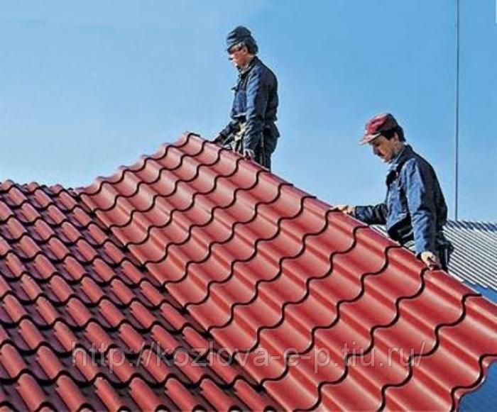 Крыша в строительстве дома может