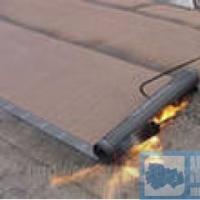 Покрытие крыши рулонными материалами